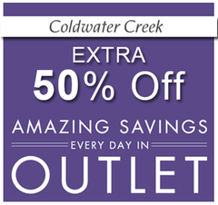 coldwater creek discount offers