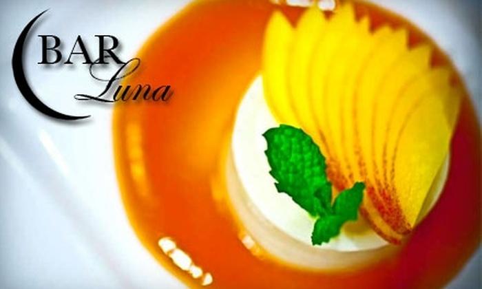 Bar Luna Wine Bar - Upper West Side: $20 for $40 Worth of Italian Fare and Drinks at Bar Luna Wine Bar