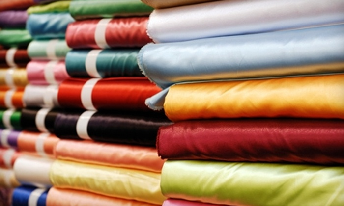 Textile Discount Outlet - Pilsen: $20 for $40 Worth of Fabric at Textile Discount Outlet