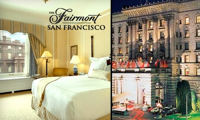 The Fairmont San Francisco  - Nob Hill: $158 for a King Room at The Fairmont San Francisco