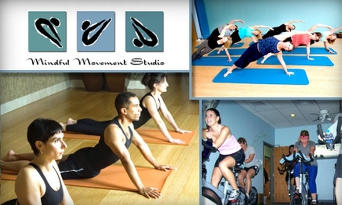 Mindful Movement Studio - Washington: $25 for 5 Sessions of Yoga, Pilates Mat Classes, Cycling, and More at Mindful Movement Studio ($75 Value)