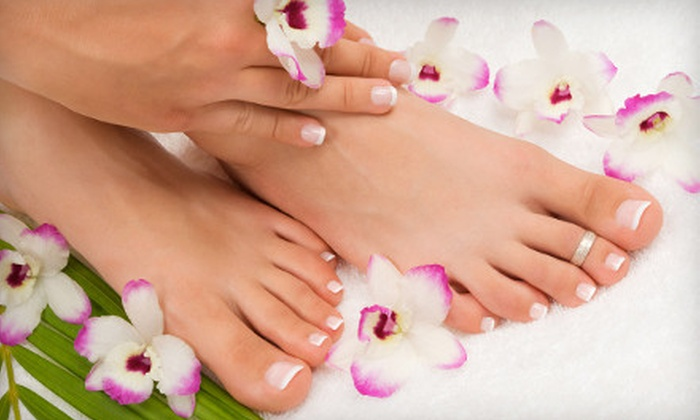 Amadeus Spa & Salon - Pasadena: $39 for a Peppermint Manicure and Pedicure with Hot Tea and Cookies at Amadeus Spa & Salon in Pasadena ($94 Value)