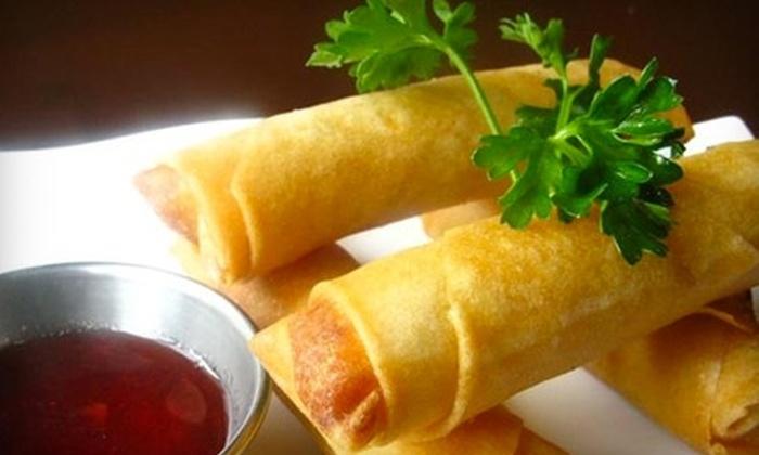 Tan Thai Cuisine - Springdale: $15 for $30 Worth of Thai Fare and Drinks at Tan Thai Cuisine in Springdale