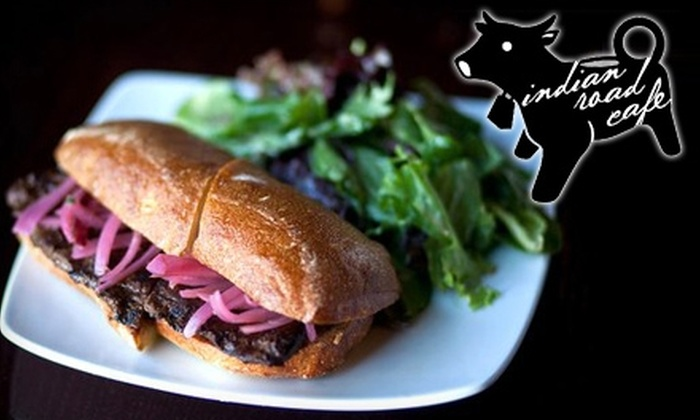 Indian Road Café - Inwood: $15 for $30 Worth of Lunch, Dinner, and Drinks at Indian Road Café