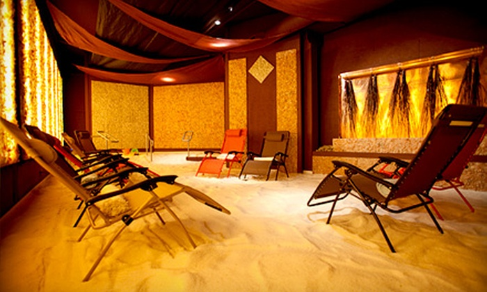 Salt Grotto - Pearl: $59 for Two Salt-Room-Therapy Sessions for Two at Salt Grotto (Up to $120 Value)