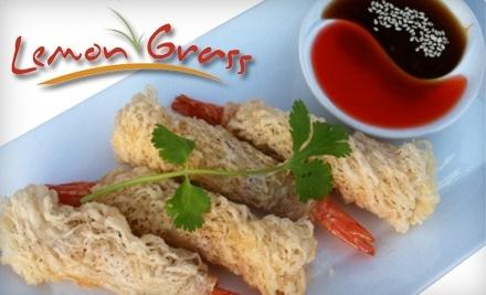 Lemon Grass: $20 Groupon for Dinner - Lemon Grass in Oconomowoc