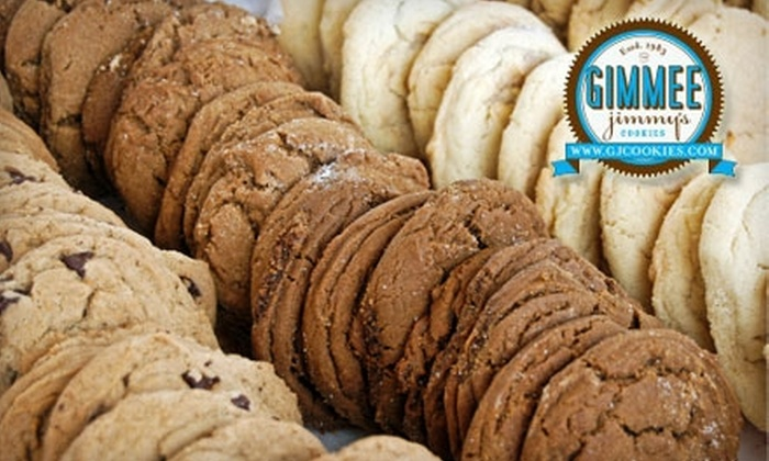Gimmee Jimmy's Cookie & Bakery - Hawthorne: $5 for $12 Worth of Fresh Baked Goods at Gimmee Jimmy's Cookies and Bakery or Online. Choose from Two Options.