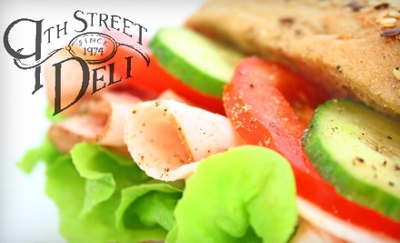 $10 Groupon to 9th Street Deli - 9th Street Deli in Columbia