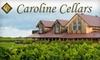 Caroline Cellars Wine Boutique - Virgil: $15 for $30 Worth of Wine and Gifts at Caroline Cellars Wine Boutique