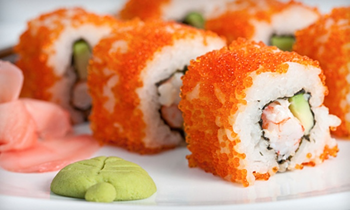 Blue Fin Sushi Bar and Restaurant - Stapleton: $30 for $60 Worth of Japanese Dinner Fare at Blue Fin Sushi Bar and Restaurant