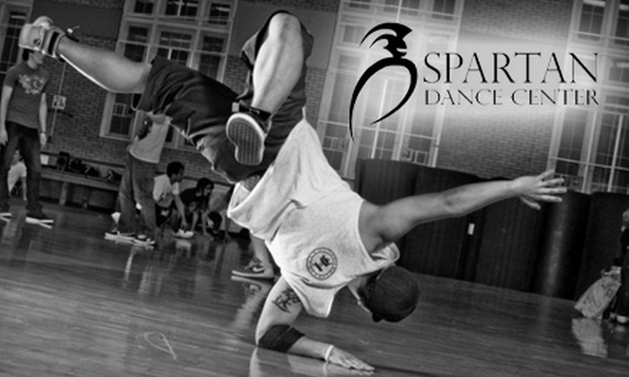 Spartan Dance Center - Lansing: $27 for Five Dance Classes and a One-Time Free Guest Pass at Spartan Dance Center ($55 Value)