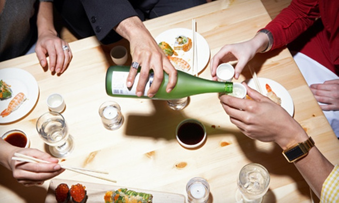Maido Sake Bar - Clifton: Japanese Dinner for Two or Four or Japanese Fare and Drinks at Maido Sake Bar
