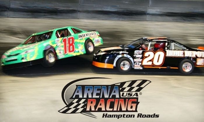 Arena Racing - Colliseum Central: $7 for One Adult Admission to Arena Racing on Nov. 6 or Nov. 27 ($14 Value)