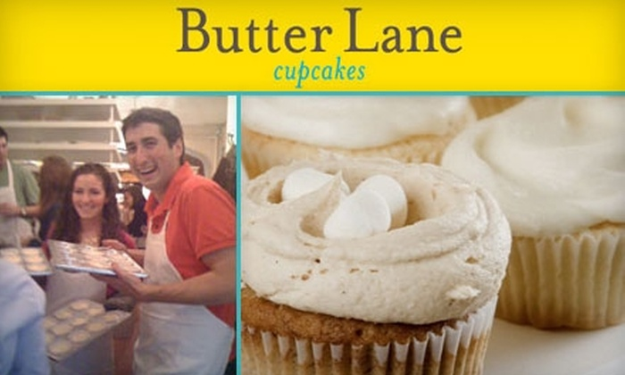 Butter Lane - East Village: $25 for One Cupcake Class at Butter Lane in the East Village ($50 Value)
