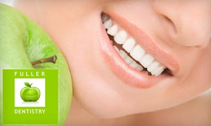 Fuller Dentistry - Richmond: $179 for Zoom! Teeth Whitening Treatment at Fuller Dentistry ($650 Value)