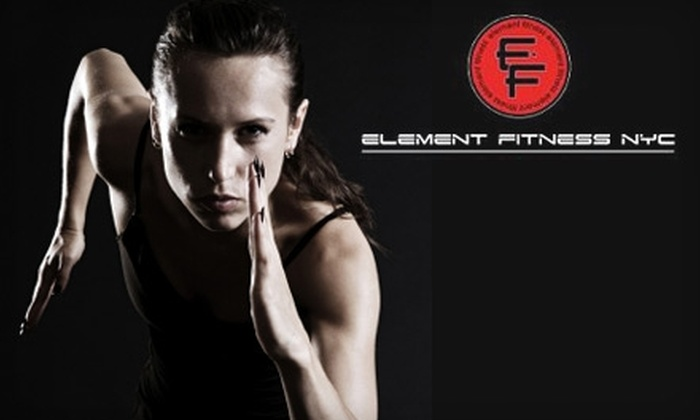 Element Fitness - Hunters Point: $75 for Three One-Hour Personal-Training Sessions at Element Fitness in Long Island City ($255 Value)