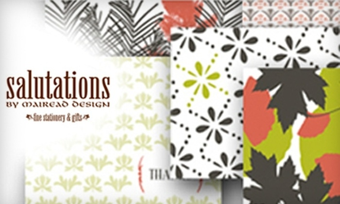 Salutations by Mairead Design - Kansas City: $15 for $30 Worth of Fine Stationery and Gifts at Salutations by Mairead Design in Briarcliff Village