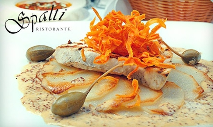 Spalti Ristorante - Evergreen Park: $20 for $40 Worth of Italian Dinner or $10 for $20 Worth of Lunch at Spalti Ristorante in Palo Alto