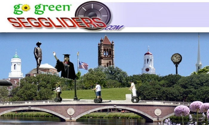 SEG Gliders USA  - Multiple Locations: $30 for a One-Hour Segway Tour of Boston or Cambridge from Boston Gliders Segway Adventures (Up to $80 Value)