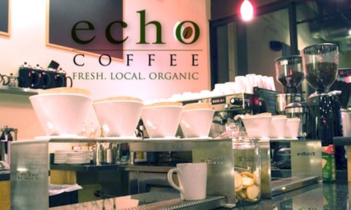 Echo Coffee - Phoenix: $4 for Any Gourmet Sandwich or Tasty Salad at Echo Coffee (Up to $9 Value)