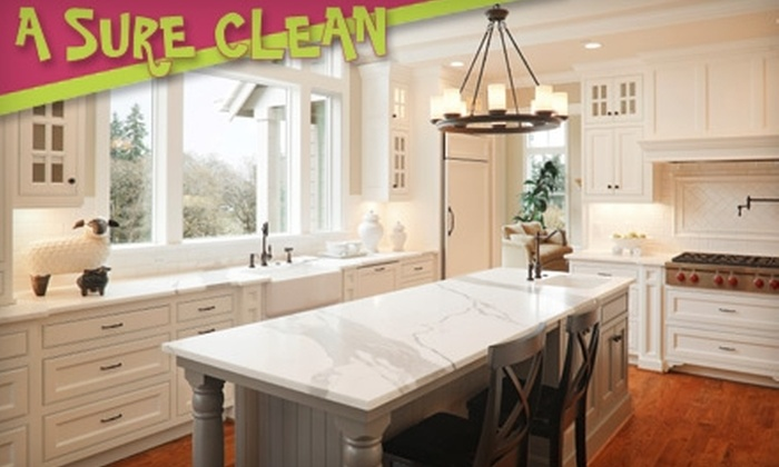 A Sure Clean - Laurelhurst: $55 for Two Hours of House Cleaning from A Sure Clean ($110 Value)