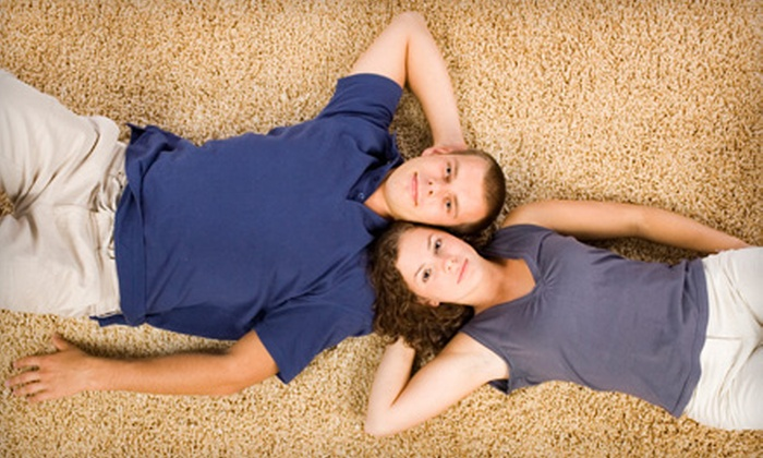BluGalaxy - Huntersville: Three or Up to Five Rooms of Carpet Cleaning From BluGalaxy