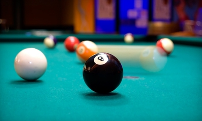 Sharky's Billiards and Grill - Springfield: $10 for $20 Worth of Bar Fare, Plus Two Hours of Unlimited Pool (Up to $35 Value), at Sharky's Billiards and Grill