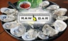 Raw Bar & Grill - Lakeview: $15 for $35 Worth of Seafood and More at Raw Bar and Grill