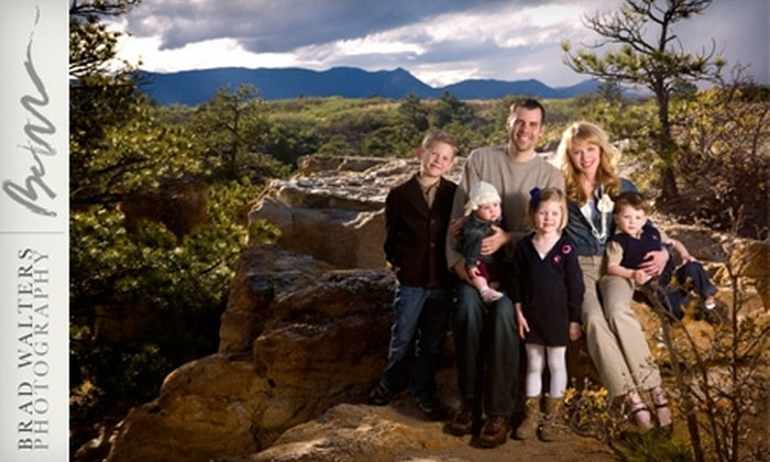 "Brad Walters Photography - East Colorado Springs: $79 for Two Photo Sessions and Two 11""x14"" Heirloom-Quality Enlargements from Brad Walters Photography ($700 Value)"