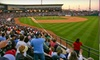 Corpus Christi Hooks - Central City: $15 for Two-Ticket Package to Corpus Christi Hooks Baseball Game (Up to $38 Value). Two Dates Available.
