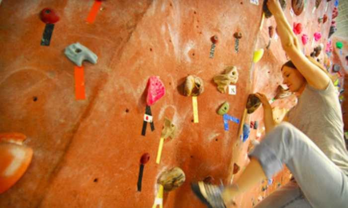The Quarry - Hillcrest: $29 for Two Weeks of Unlimited Indoor Rock Climbing, Equipment Rental, and Two Climbing Classes at The Quarry in Provo ($59 Value)