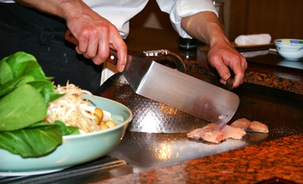 $40 for Sushi, Hibachi Fare, and Drinks during Dinner - Newport Tokyo House in Newport