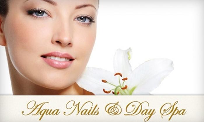 Aqua Spa - Walnut Creek Estates: $30 for Your Choice of an Anti-Aging Facial, Acne Facial, or European Facial at Aqua Spa (Up to $75 Value)