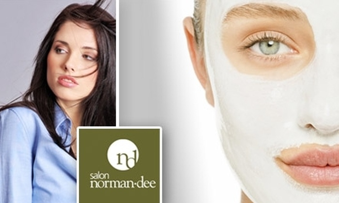 Salon Norman Dee - Bustleton: $50 for $100 Worth of Beauty Services at Salon Norman-Dee