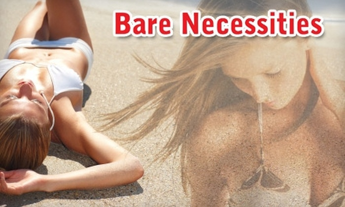 Bare Necessities Tanning Salon & Day Spa - Puyallup: $35 for Two UV-Free Custom Spray Tans at Bare Necessities Tanning Salon & Day Spa ($70 Value)