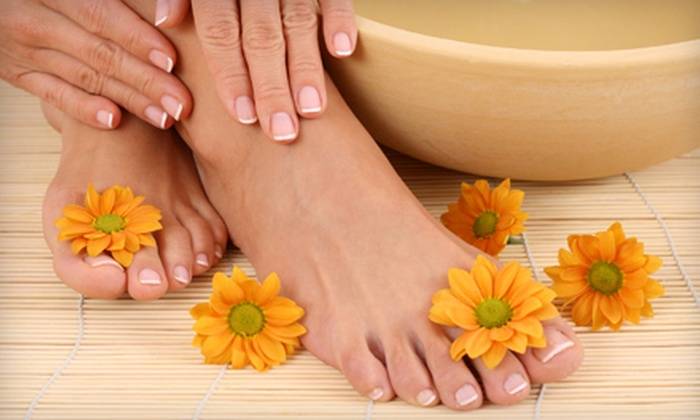 Sophisticated Facial & Nail Spa - Ala Moana - Kakaako: Mani-Pedi or Dermalogica Facial at Sophisticated Facial & Nail Spa