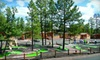 PVC at The Roundhouse Resort *DRM* - Pinetop, AZ: Two-Night Weekday or Weekend Stay in a Cabin with Wine at PVC at The Roundhouse Resort in Pinetop (Up to 66% Off)