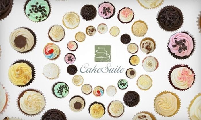 CakeSuite - Westport: $12 for a Dozen Cupcakes at CakeSuite ($24 Value)