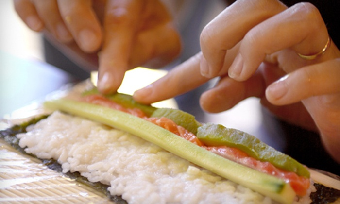 Fuji Sushi and Thai - Stuart: Sushi-Making Class or Thai Cooking Class for Two or Four at Fuji Sushi and Thai in Stuart