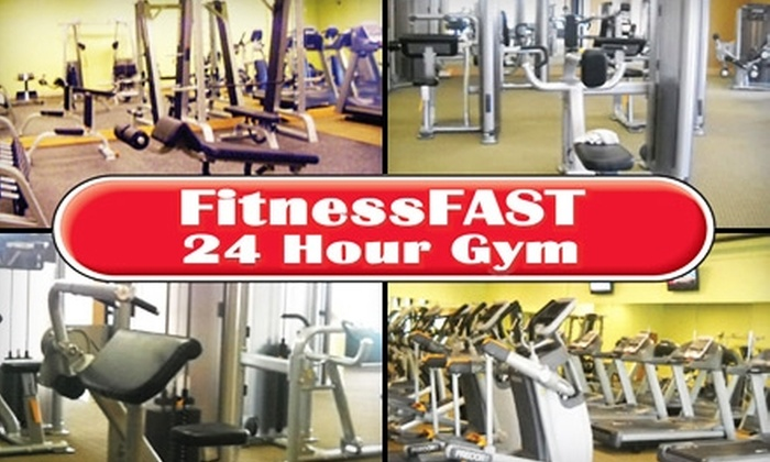 FitnessFast 24 Hour Gym - Bellevue Second III: $20 for 12 Zumba Classes at FitnessFast 24 Hour Gym ($60 Value) in Bellevue