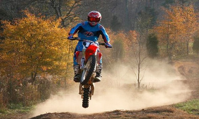 MidsouthmotoX - 10, Melville: Riding Lesson with Rental and Equipment or Day of Motocross Riding at MidsouthmotoX in Mebane (Up to 59% Off)