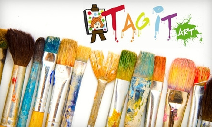 Tag It Art - Southeastern Columbia: $16 for a Three-Hour BYOB Painting Class at Tag it Art ($32 Value)