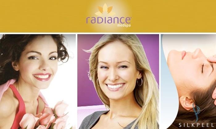 Radiance Medspa Fairfax - Chantilly: $59 for VISIA Complexion Analysis & SilkPeel Microdermabrasion at Radiance Medspa ($345 Value)
