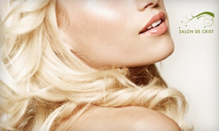 Salon & Spa De Crist - Summit Ridge: $45 for a Keratin Blowout (Up to $94 Value) or a 30-Minute Facial with Chemical Peel (Up to $95 Value) at Salon & Spa De Crist in Lee's Summit