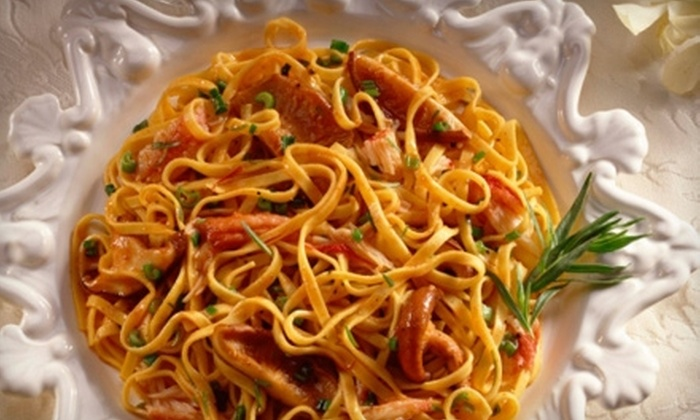 Incontro Restaurant & Lounge - Franklin Town: $25 for $50 Worth of Fine Italian Cuisine at Incontro Restaurant & Lounge in Franklin