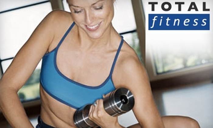 Total Fitness - 400 North: $25 for a One-Month Membership to Total Fitness ($52 Value)