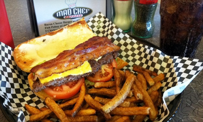 Mad Chef Express - Airmont: $7 for $14 Worth of Traditional American Fare at Mad Chef Express