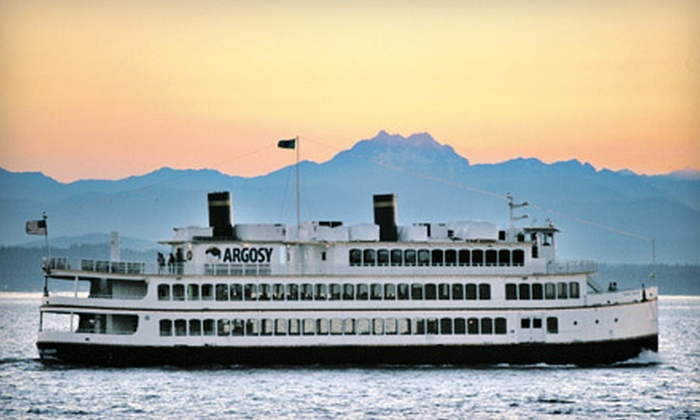 Argosy Cruises - Pioneer Square: Captain's Club Annual Membership for Two or Four, Including Free Tours and Discounted Cruises, from Argosy Cruises (Half Off)