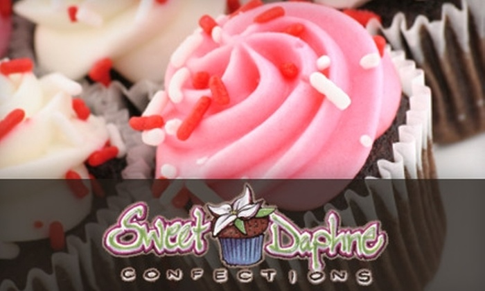 Sweet Daphne Confections - Powers: $4 for Four Gourmet Cupcakes at Sweet Daphne Confections ($8 Value)
