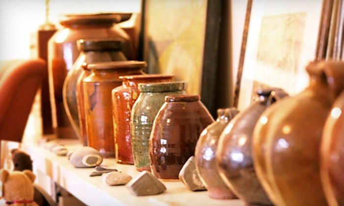 Puttin' on the Paint - Pleasant Valley: $10 for $20 Worth of Paint-Your-Own Pottery at Puttin' on the Paint